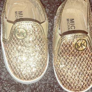Infant size 3 Michael Kors shoes